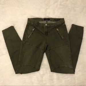 GUESS Olive Green Jeans